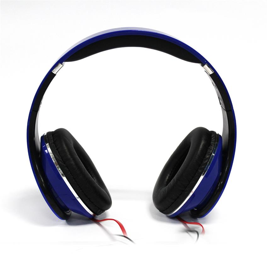 Audífono estudio color azul H-Tech AU02