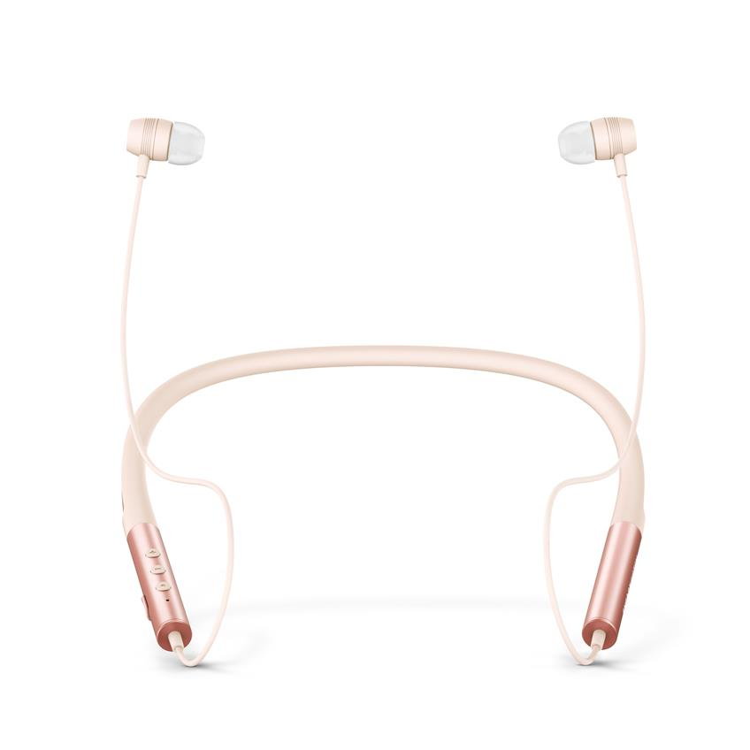 Audífonos Energy neckband 3 bluetooth rose gold 445608