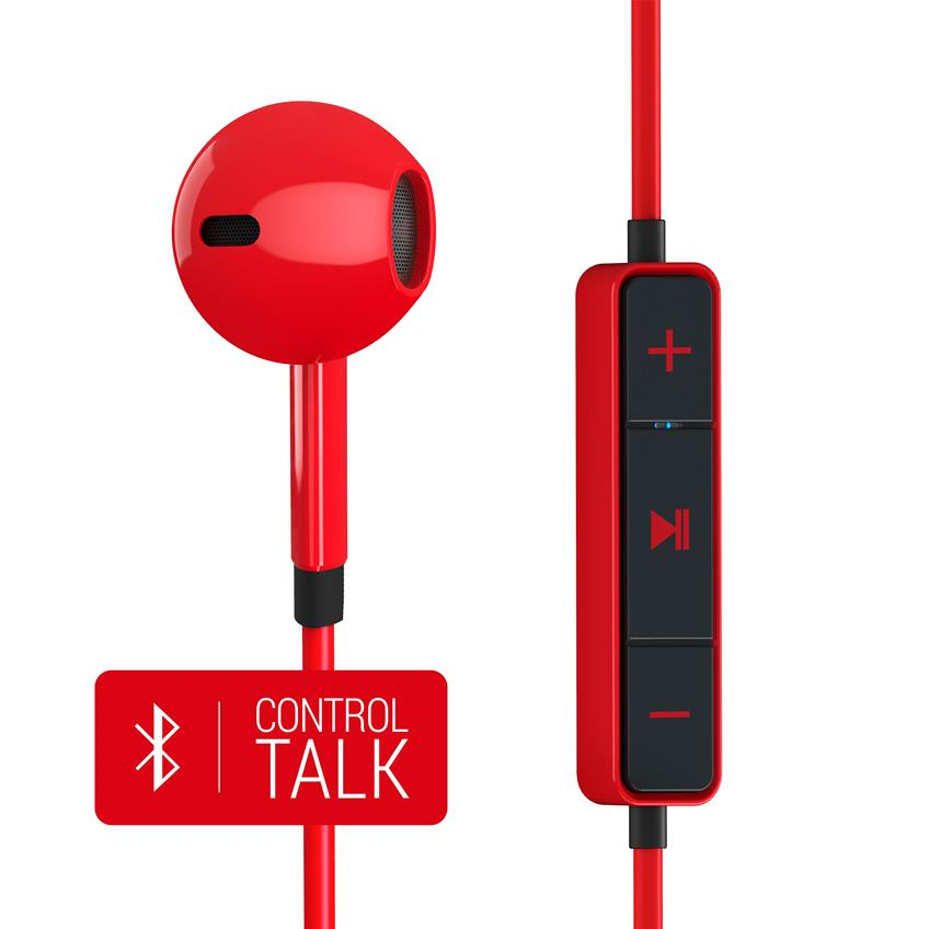 Auriculares Energy 1 bluetooth red 428410