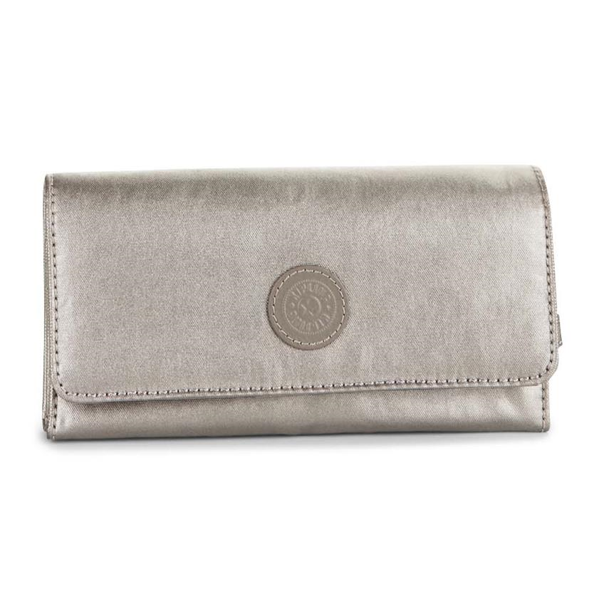 921725069 Billetera Brownie Metallic Pewter KIPLING K15171L34 ...