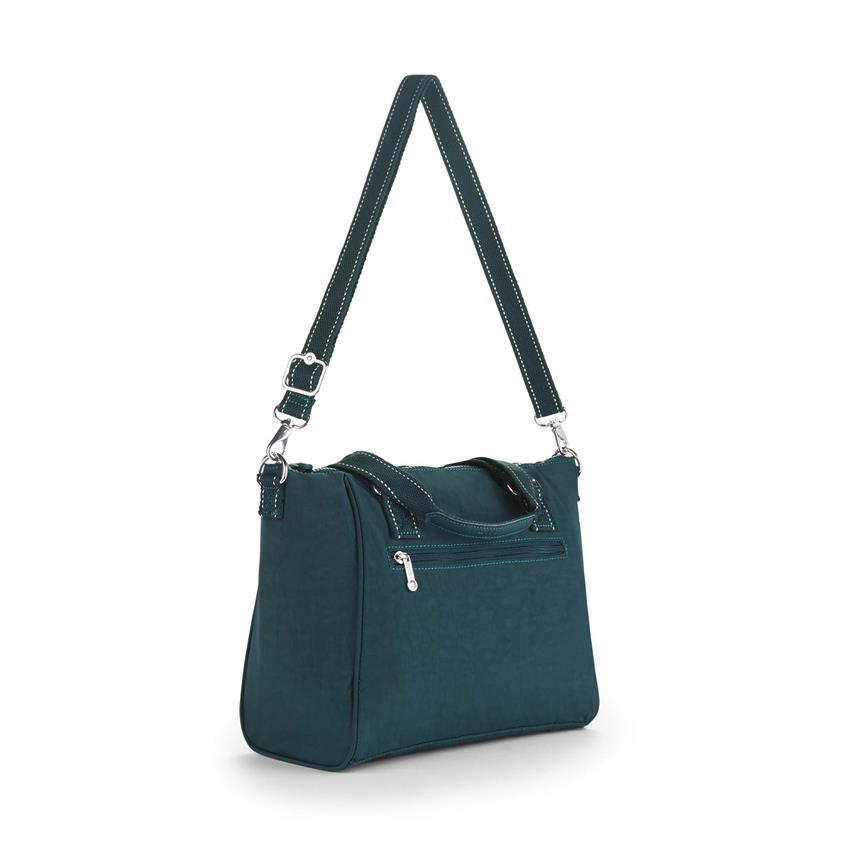 2feeefc10 Bolso de mano Amiel Deep Emerald KIPLING K1537189W - Clubdecomprasbi.com