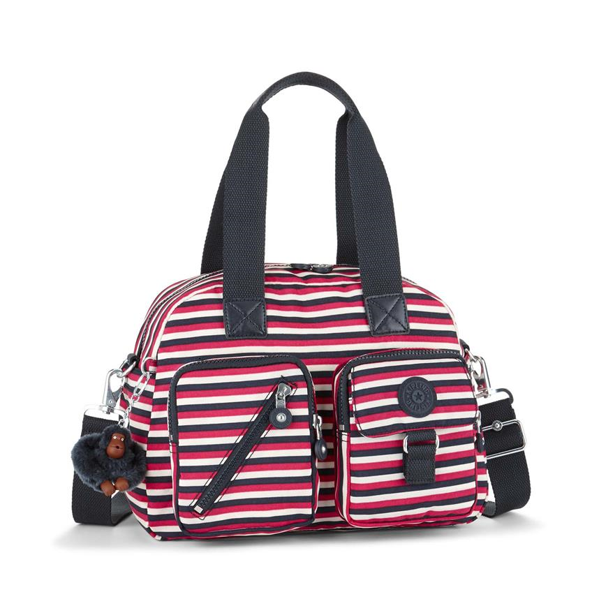Bolso de mano Defea Sugar Stripes KIPLING K13636L24