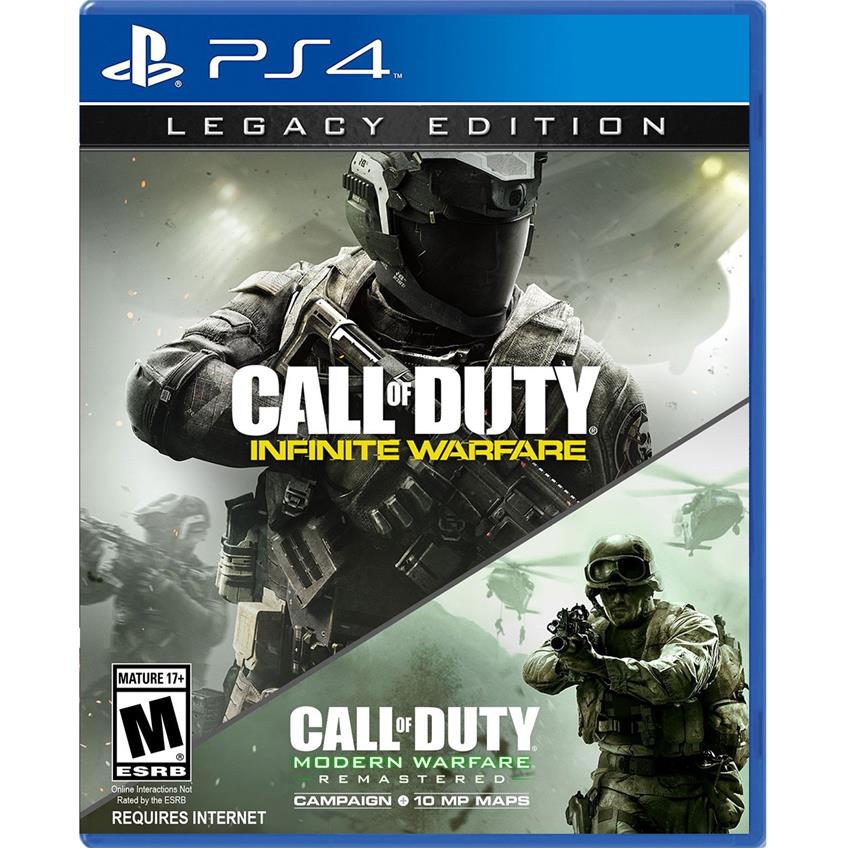 CALL OF DUTY Infinite Warfare Legacy Edition (2 juegos) PS4 047875880368