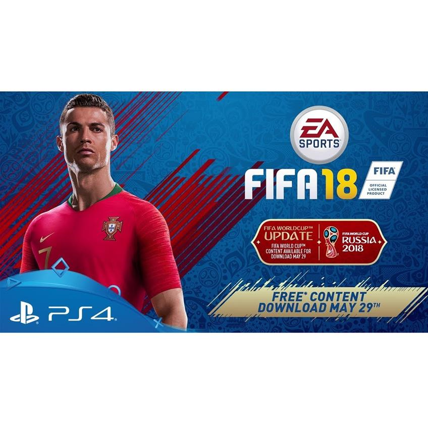 FIFA 18 + WORLD CUP RUSIA PS4 014633372762
