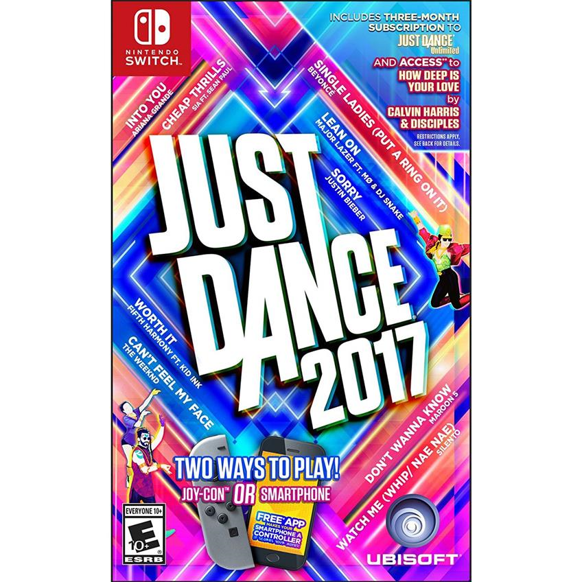 Just dance 2017 Nintendo Switch 887256027902