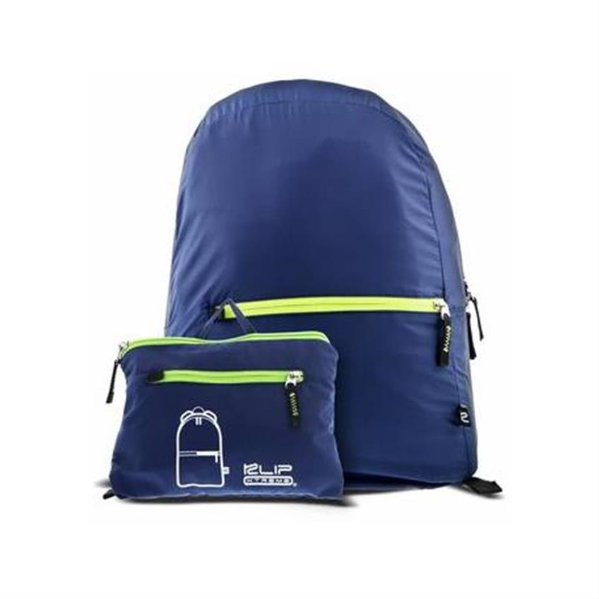 KX Bkpk Foldable KFB-001BL Blue  WATERPROOF