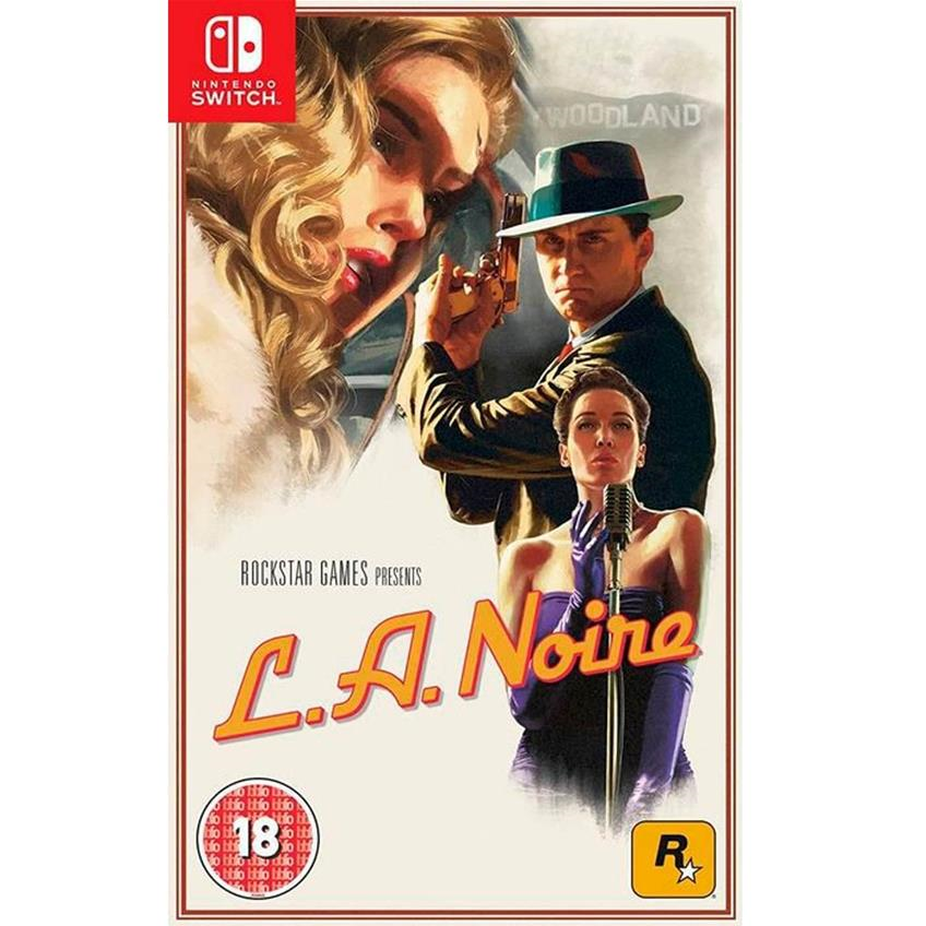 L.A. Noire Remastered Nintendo Switch 5026555067072