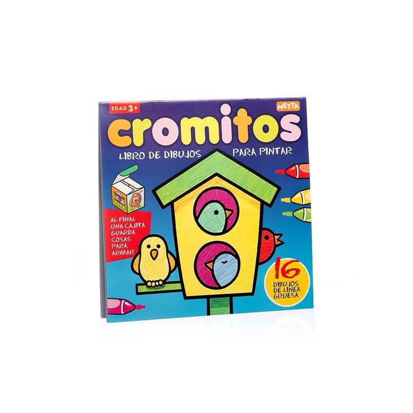 Libros Para Colorear Colección Cromitos Pajarito Juegos