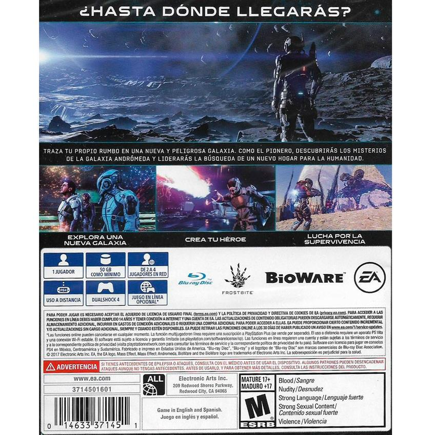 Mass Effect Andromeda PS4 014633371451