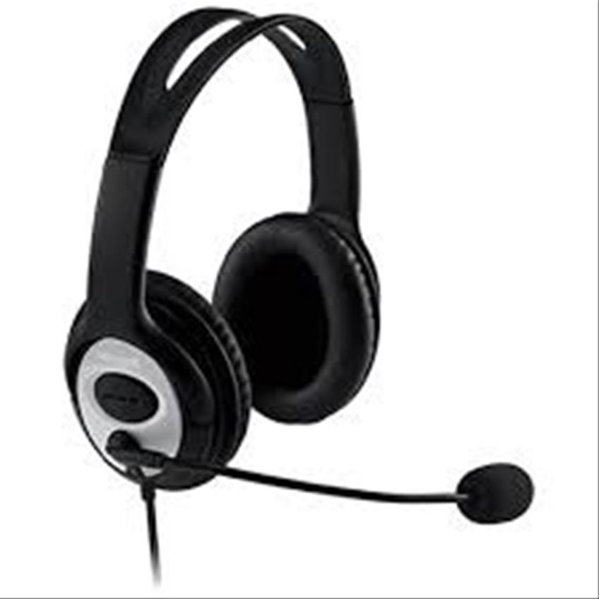 Microsoft Headset LX-3000 Wired USB Black JUG-00013
