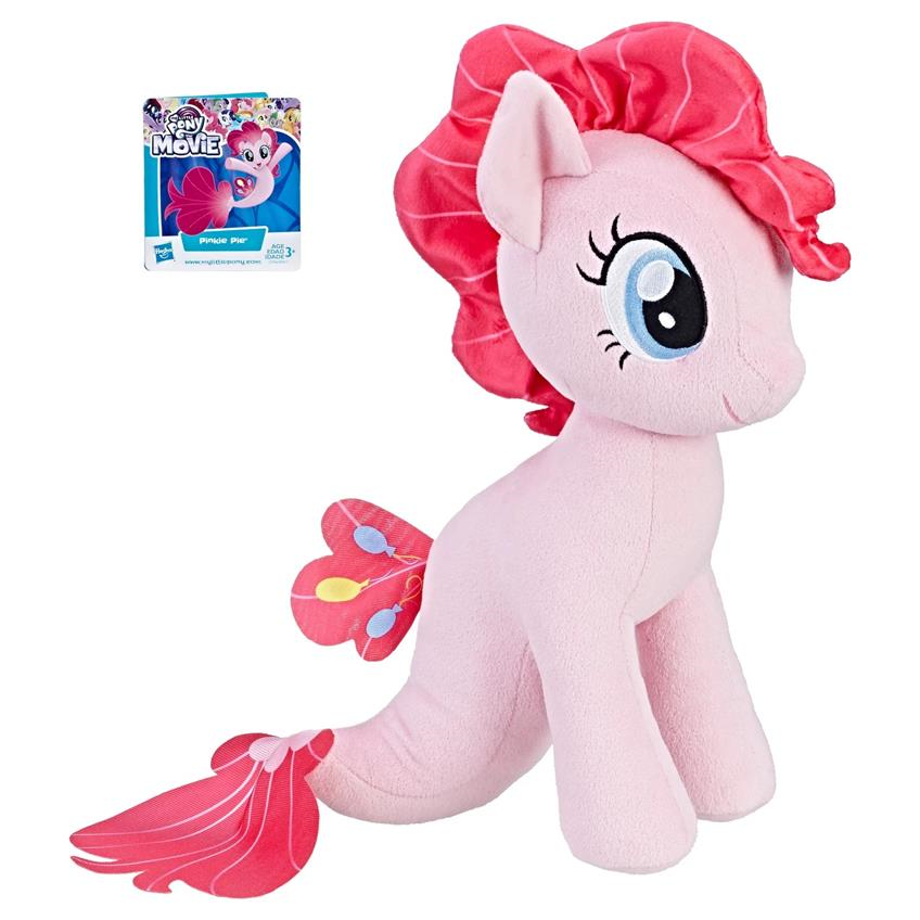 My Little Pony Cuddly Plush de la película Pinkie Pie Sea 304603