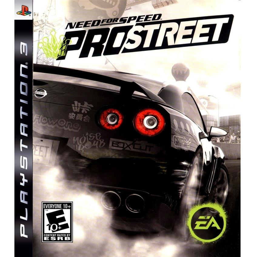 Need for Speed Prostreet PS3 014633733556