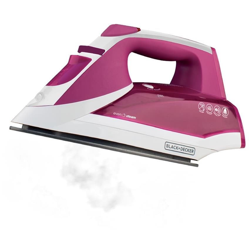 Plancha EvenSteam Black & Decker IR2011