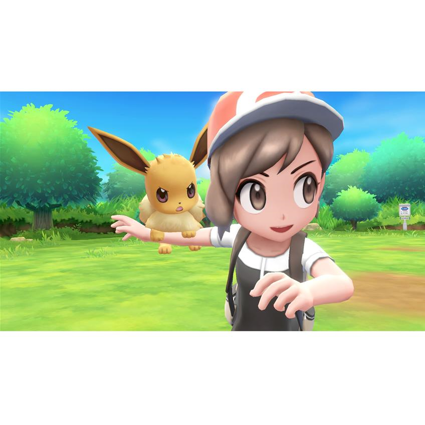 Pokemon Lets Go Eevee Nintendo Switch 45496593971
