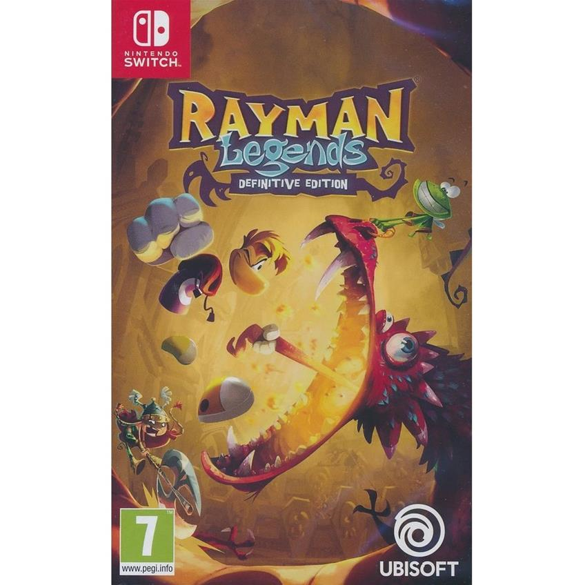 Rayman Legends: Definitive Edition Nintendo Switch 3307216014041