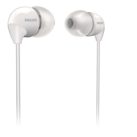 Audífonos Intrauditivos Color Blanco Philips SHE3590WT