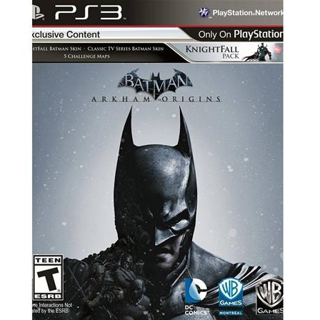Batman Arkham Origins PS3 883929388264