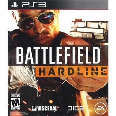 Battlefield Hardline PS3 014633732719