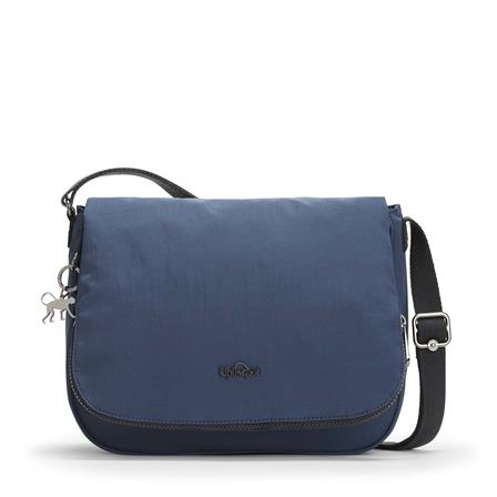 Bolso de hombro Lvm Earthbeat M Satin Blue K1430212Y