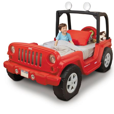Cama tipo Jeep Little Tikes 247437