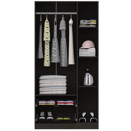Closet Austral 3 puertas CLW 928 Color Wengue