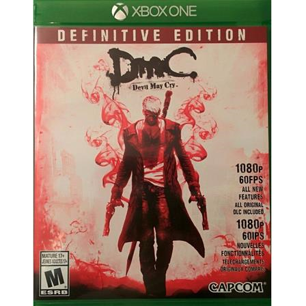 Devil May Cry Definitive Edition XBOX ONE 013388938018