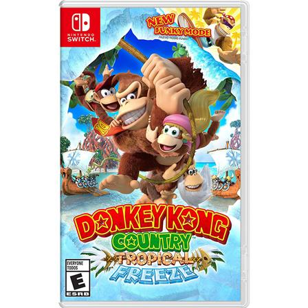 Donkey Kong Country: Tropical Freeze Nintendo Switch 045496592660