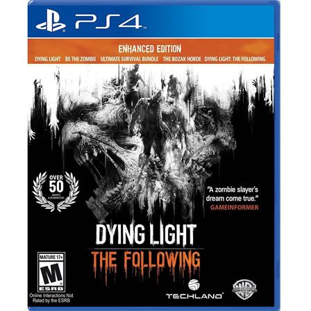 Dying light, the following enhanced Edition PS4 883929530618