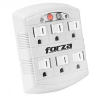 Forza power wall tap 6-out child protected w/ nightlight FWT-665