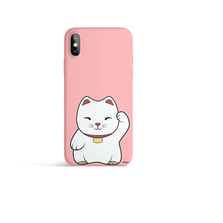 Funda para Celular Maneki Neko Pink Iphone 7/8