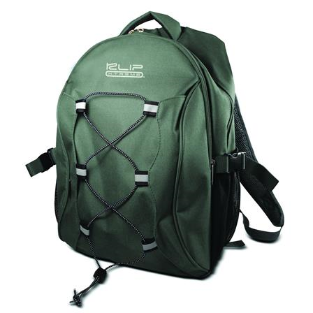 "KlipX Notebook Backpack 15.4"" KNB-405OL Olive KNB-405OL"