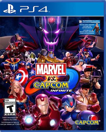 MARVEL vs CAPCOM Infinite PS4 013388937042