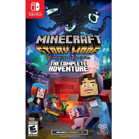 Minecraft: Story Mode - The Complete Adventure Nintendo Switch 816563020078