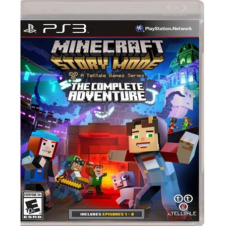 Minecraft The Complete Adventure PS3 894515001979