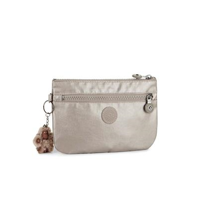 Monedero Ness Metallic Pewter KIPLING K22546L34