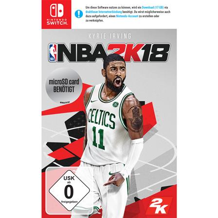 NBA 2K18 Nintendo Switch 5026555066648