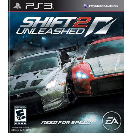 Need For Speed Shift 2, Unleashed PS3 014633194845