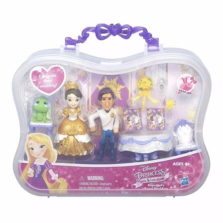 Set Princesa Disney Rapunzel Boda Real 274837