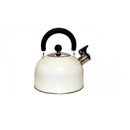 Tetera Oster de 2.5qt de acero inoxidable color blanco OS-60011