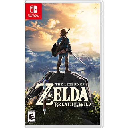 The Legend of Zelda: Breath of the Wild Nintendo Switch 045496590420