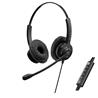 KX Hdst Wrd KCH-901 On-ear Vol-Mic Bussines USB Monoaural KCH-901