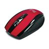 KlipX Mouse 6-button Optical Nano Dongle Wireless Red KMW-340RD